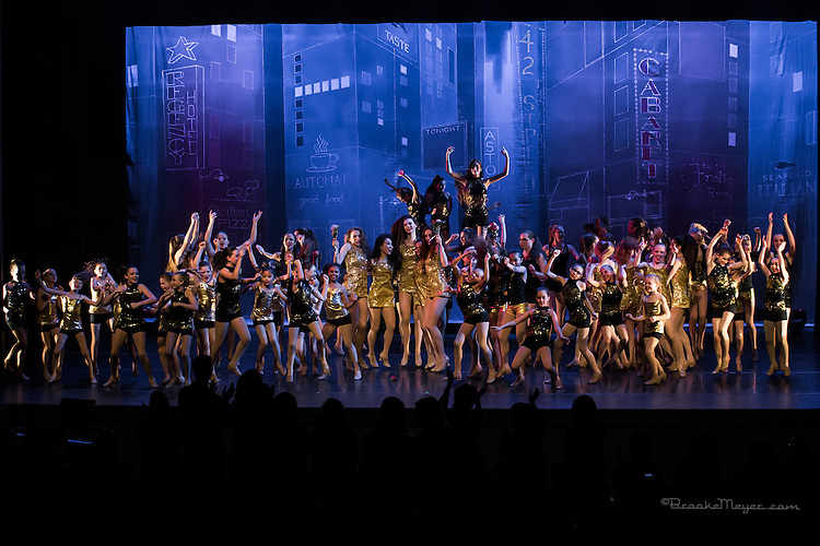 """Saturday Evening Performance """"Then & Now"""", the Spring Showcase production of 3D Project Jazz Company. Cary Arts Center, 12 March 2016"""