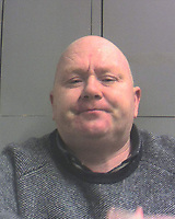 Pictured: Custody picture of Richard James Coffey<br /> Re: Brian Clarke, a vulnerable pensioner was exploited, bullied, fleeced of cash and then burgled by cruel conmen Jay Radford, Richard Coffey and Richard O'Brien, Swansea Crown court has heard.<br /> As well as stealing £10,000 in cash the fraudsters got away with a pocket watch given to the victim by his dying father that he intended to pass on to a relative.<br /> The court heard Mr Clarke, who is now aged 89, met a man called Richard Patrick O'Brien in a market in Whitland, Carmarthenshire, in May 2015.<br /> The judge sentenced O'Brien to a total of two years in prison and Coffey to 18 months. Radford was jailed for 14 months.