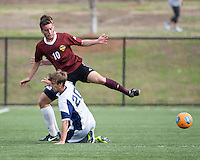The Winthrop University Eagles played the UNC Wilmington Seahawks in The Manchester Cup on April 5, 2014.  The Seahawks won 1-0.  Pol Sole (10), David Sizemore (20)