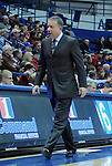 January 20, 2015 - Colorado Springs, Colorado, U.S. -  Air Force head coach, Dave Pilipovich, during a Mountain West Conference match-up between the San Diego State Aztecs and the Air Force Academy Falcons at Clune Arena, U.S. Air Force Academy, Colorado Springs, Colorado.  San Diego State defeats Air Force 77-45.