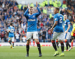 Andy Halliday celebrates his goal