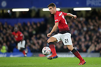 Ander Herrera of Manchester United in action during Chelsea vs Manchester United, Emirates FA Cup Football at Stamford Bridge on 18th February 2019