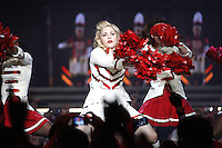 Madonna performing on the first night of her MDNA Tour at the Wells Fargo Center in Philadelphia, Pa on August 28, 2012  © Star Shooter / MediaPunchInc /NortePhoto.com<br />