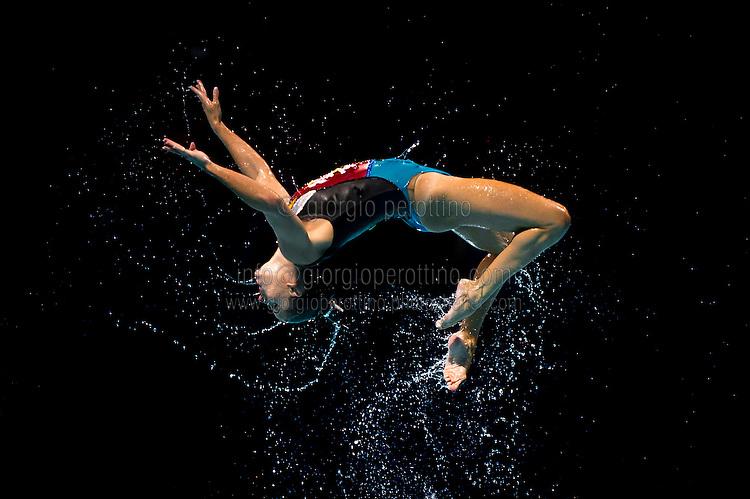 Team Italy<br /> Free Combination final<br /> Synchronised swimming<br /> 15th FINA World Aquatics Championships<br /> Barcelona 19 July - 4 August 2013<br /> Palau Sant Jordi, Barcelona (Spain) 27/07/2013 <br /> © Giorgio Perottino