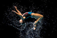 Team Italy<br /> Free Combination final<br /> Synchronised swimming<br /> 15th FINA World Aquatics Championships<br /> Barcelona 19 July - 4 August 2013<br /> Palau Sant Jordi, Barcelona (Spain) 27/07/2013 <br /> © Giorgio Perottino