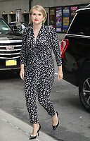 NEW YORK, NY- August 13: Jillian Bell at The Late Show With Stephen Colbert in New York City on August 13, 2019. Credit: RW/MediaPunch