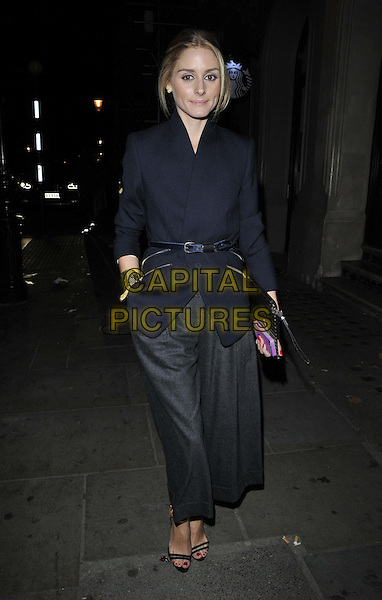 LONDON, ENGLAND - SEPTEMBER 14: Olivia Palermo attends the Jonathan Saunders S/S15 catwalk show, LFW Day 3, British Museum, Great Russell St., on Sunday September 14, 2014 in London, England, UK. <br /> CAP/CAN<br /> &copy;Can Nguyen/Capital Pictures