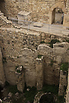 Israel, Jerusalem, the pool of Bethesda, the site where Jesus is believed to have healed a paralytic, was a rainwater reservoir during the Second Temple period..