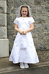 Danielle Gregory pictured on her communion day in Duleek.