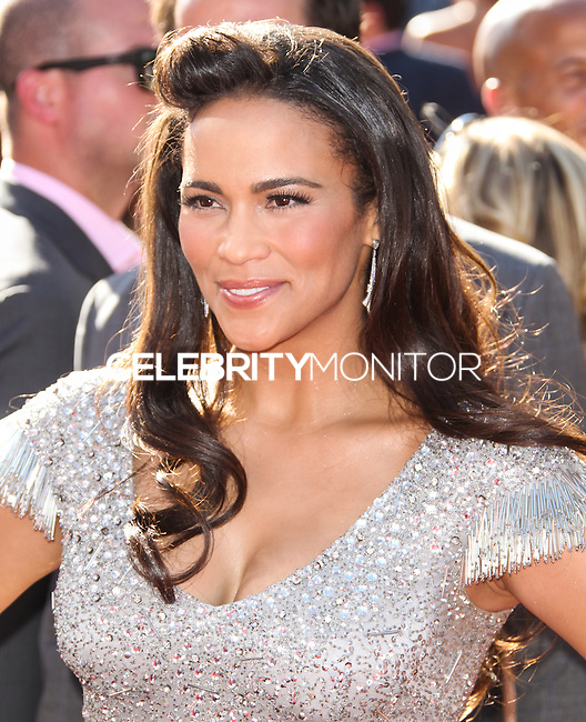 LOS ANGELES, CA - JULY 17: Paula Patton attends the ESPY Awards 2013 held at Nokia Theatre L.A. Live on July 17, 2013 in Los Angeles, California. (Photo by Celebrity Monitor)