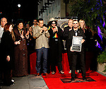 UK musician Ringo Starr was honored with the 2,401st Star on the Hollywood Walk of Fame in Los Angeles, California 08 February 2010. The former Beatle was joined by his wife Barbara Bach, Joe Walsh, Ben Harper and Don Was. This Monday evening ceremony also marked the 50th anniversary of groundbreaking on the sidewalk attraction..Photo by Nina Prommer/Milestone Photo