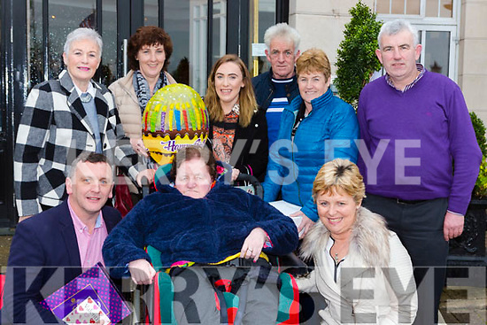 Eileen O'Donoghue, Listowel and Rathmore celebratedher birthday with her family in the Dromhall Hotel on Sunday front row l-r: Declan Raggett, Eileen O'Donoghue, Margaret O'Donoghue. Back row: Noreen O'Leary, Helen O'Shea, Maeve Dineen, Michael O'Donoghue, ann Marie Tydings and Matt O'Donoghue