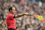 Assistant referee Jose Manuel Fernandez Miranda in action during their La Liga 2016-17 match between Real Madrid and Malaga CF at the Estadio Santiago Bernabéu on 21 January 2017 in Madrid, Spain. Photo by Diego Gonzalez Souto / Power Sport Images