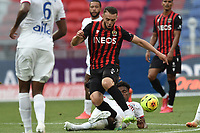4th July 2020; Lyon, France; French League 1 friendly due to the Covid-19 pandemic forced league ending;  Amine Gouiri (nice)