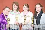 The Tarbert youth club U15's quiz team who came third in the KDYS quiz at Killarney on Sunday l-r: Sinead Holly, Leanne Ahern, Asling Flynn and Mai Stack.