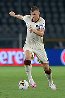 29th July 2020; Olympic Grande Torino Stadium, Turin, Piedmont, Italy; Serie A Football, Torino versus Roma; Edin Dzeko of AS Roma on the ball