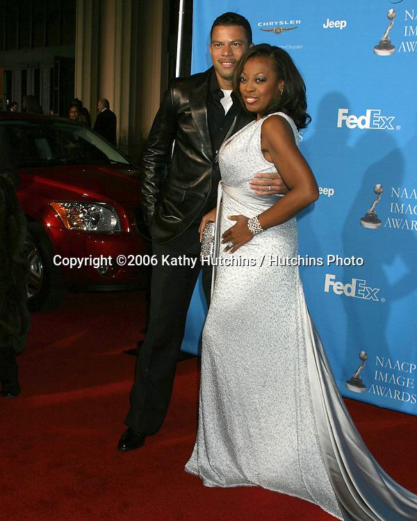 Al & Star Jones Reynolds.37th NAACP Image Awards.Shrine Auditorium.Los Angeles, CA.February 25, 2006.©2006 Kathy Hutchins / Hutchins Photo....                 V