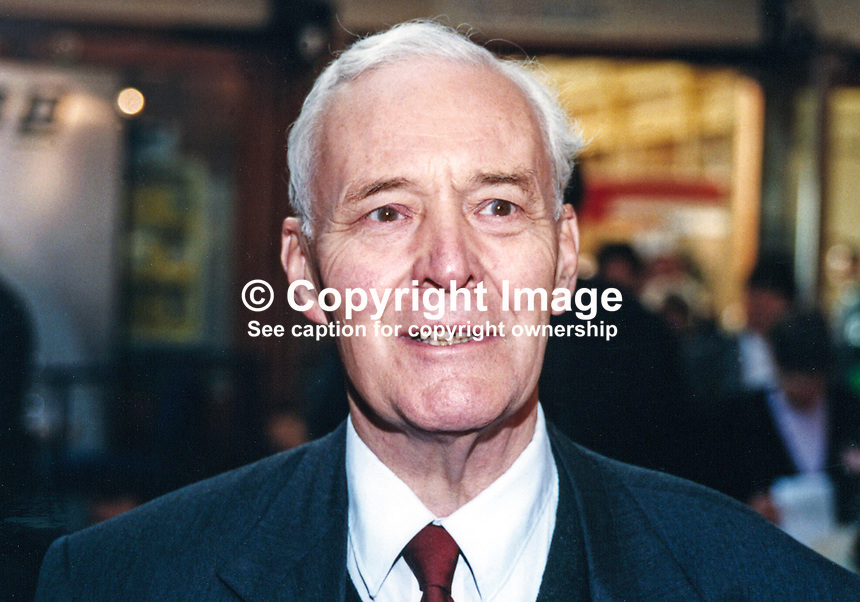 Tony Wedgwood Benn, MP, Labour Party, UK, 19961016TWB.<br />
