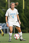22 August 2008: Carolina's Emmalie Pfankuch. The University of North Carolina Tar Heels defeated the UNC Charlotte 49'ers 5-1 at Fetzer Field in Chapel Hill, North Carolina in an NCAA Division I Women's college soccer game.