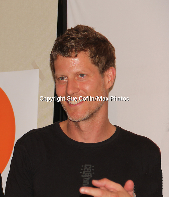 """Eric Sheffer Stevens at """"The F"""" - a Benefit for the film was held on June 22, 2018 at the Freeman Studio, New York City, New York. (Photo by Sue Coflin/Max Photo)"""