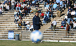 24 November 2007: Notre Dame head coach Randy Waldrum The University of Notre Dame Fighting Irish defeated University of North Carolina Tar Heels 3-2 at Fetzer Field in Chapel Hill, North Carolina in a Third Round NCAA Division I Womens Soccer Tournament game.