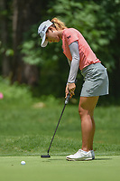 Lydia Ko (NZL) watches her putt on 1 during round 1 of the U.S. Women's Open Championship, Shoal Creek Country Club, at Birmingham, Alabama, USA. 5/31/2018.<br /> Picture: Golffile | Ken Murray<br /> <br /> All photo usage must carry mandatory copyright credit (&copy; Golffile | Ken Murray)