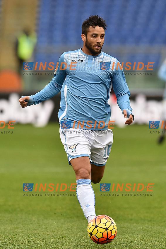 Felipe Anderson Lazio.<br /> Roma 6-01-2016 Stadio Olimpico, Football Calcio 2015/2016 Serie A Lazio - Carpi. Foto Antonietta Baldassarre / Insidefoto