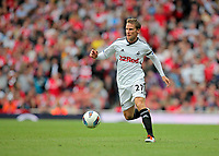 Pictured: Mark Gower of Swansea. Saturday 10 September 2011<br />