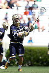 23 April 2016: Notre Dame's Ryder Garnsey. The University of North Carolina Tar Heels hosted the University of Notre Dame Fighting Irish at Kenan Stadium in Chapel Hill, North Carolina in a 2016 NCAA Division I Men's Lacrosse match. UNC won the game 17-15.