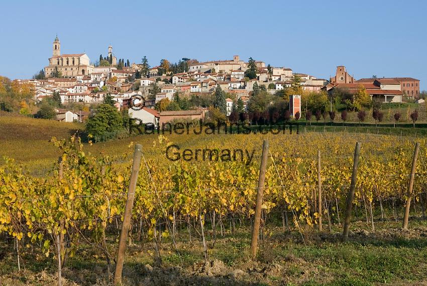 Italien, Piemont, Vignale Monferrato: Weindorf und Trueffelregion | Italy, Piedmont, Vignale Monferrato: wine village and truffle area