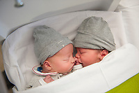 One day old newborn twins (Heverlee, 31/12/2016)