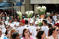 CAMPINAS, SP 20.04.2019-RELIGIÃO - Realizado neste sábado (20) a tradicional Lavagem da escadaria da Catedral Metropolitana de Campinas (SP), o ritual que está na 34ª edição na cidade, teve a participação de integrantes de religiões afro-brasileiras de Campinas e Região Metropolitana. (Foto: Denny Cesare/Código19)