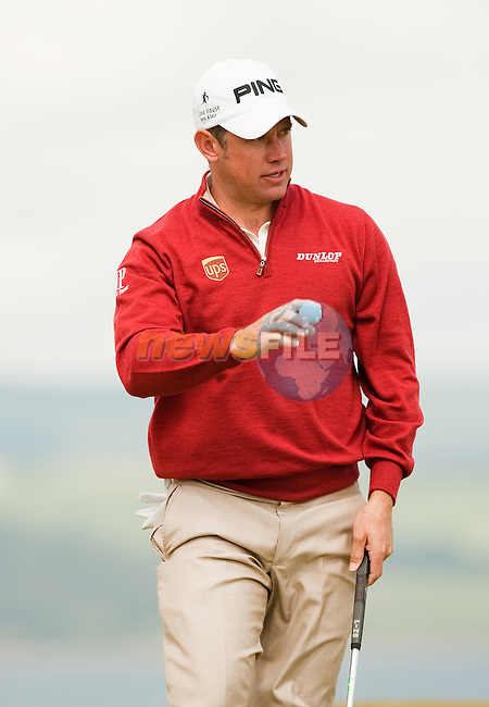 Lee Westwood takes a one shot lead from the first round  of the Barclays Scottish Open, played over the links at Castle Stuart, Inverness, Scotland from 7th to 10th July 2011:  Picture Stuart Adams /www.golffile.ie 7th July 2011