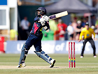 Daniel Bell-Drummond bats for kent during the Vitality Blast T20 game between Kent Spitfires and Gloucestershire at the St Lawrence Ground, Canterbury, on Sun Aug 5, 2018