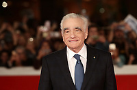 Il regista statunitense Martin Scorsese posa sul red carpet per la presentazione del suo film 'Irishman' alla 14^ Festa del Cinema di Roma all'Aufditorium Parco della Musica di Roma, 21 ottobre 2019.<br /> US director Martin Scorsese poses on the red carpet to present his movie 'Irishman' during the 14^ Rome Film Fest at Rome's Auditorium, on 21 October 2019.<br /> UPDATE IMAGES PRESS/Isabella Bonotto