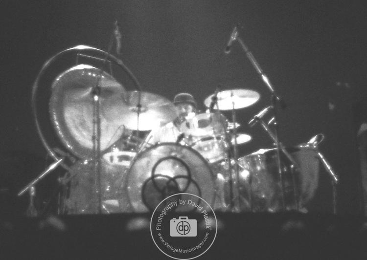 John Bonham of Led Zeppelin Photo by Joel Peskin/eRockPhotos.com