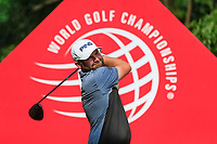 Andy Sullivan (ENG) on the 9th tee during the 2nd round at the WGC HSBC Champions 2018, Sheshan Golf CLub, Shanghai, China. 26/10/2018.<br /> Picture Fran Caffrey / Golffile.ie<br /> <br /> All photo usage must carry mandatory copyright credit (&copy; Golffile | Fran Caffrey)