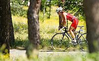 05 JUN 2010 - MADRID, ESP - Lourdes Legorburu Rodas - Spanish Age Group Triathlon Championships (PHOTO (C) NIGEL FARROW)