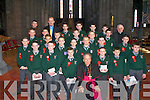 Killarney Monastery pupils who were Confirmed by Bishop Bill Murphy in St Mary's Cathedral on Friday   Copyright Kerry's Eye 2008