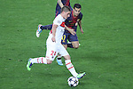 10.04.2013 Barcelona, Spain. Champions league Quarter-final row 2. Picture show Marco Verratti in action during match between FC Barcelona against Paris SG at Camp Nou