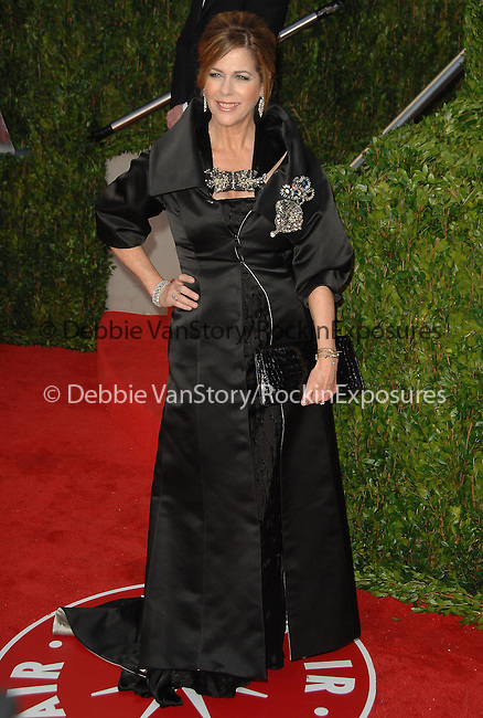 Rita Wilson attends The 2010 Vanity Fair Oscar Party held at The Sunset Tower Hotel in West Hollywood, California on March 07,2010                                                                                       © 2010 DVS / RockinExposures..