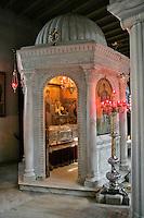 Agios Dimitrios church,relics of St. Dimitrios,Thessaloniki,Macedonia,Greece