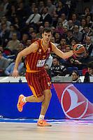 Galatasaray´s Erceg during 2014-15 Euroleague Basketball match between Real Madrid and Galatasaray at Palacio de los Deportes stadium in Madrid, Spain. January 08, 2015. (ALTERPHOTOS/Luis Fernandez) /NortePhoto /NortePhoto.com