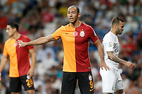 Galatasaray's Umut Bulut during XXXVI Santiago Bernabeu Trophy. August 18,2015. (ALTERPHOTOS/Acero)