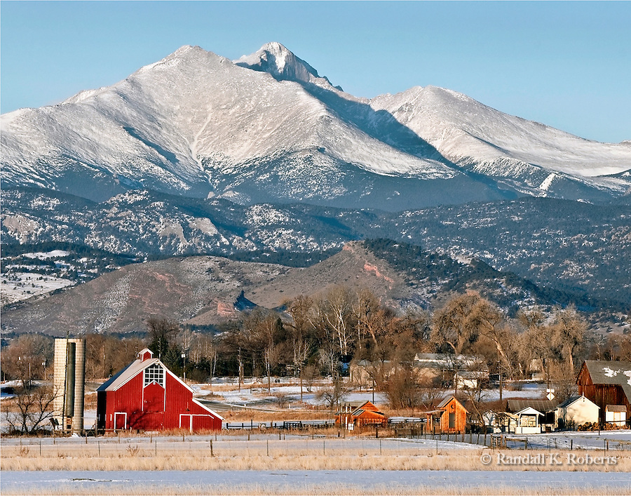 McIntosh Farm and Longs Peak, Longmont, Colorado