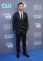 11 January 2018 - Santa Monica, California - Sebastian Stan. 23rd Annual Critics' Choice Awards held at Barker Hangar. <br /> CAP/ADM/BT<br /> &copy;BT/ADM/Capital Pictures