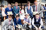 Students from Mercy Mounthawk Secondary School, Tralee, who received their certificates at their graduation Mass, in Our Lady & St. Brendan's Church, Tralee, on Friday afternoon last, were front l-r: Dara Devine, Evan Doody, David McCarthy and Michael Linnane. Back l-r: Patrick Kearney, Robbie Dinan, Ciara McCarthy, Sam Boyle and Mark Moloney.