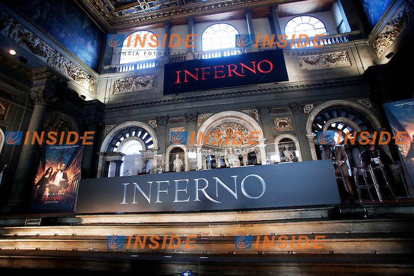 Firenze 06-10-2016. Photocall del film 'Inferno' in anteprima mondiale.<br /> Rome 6th October 2016. 'Inferno' Photocall<br /> Foto Samantha Zucchi Insidefoto