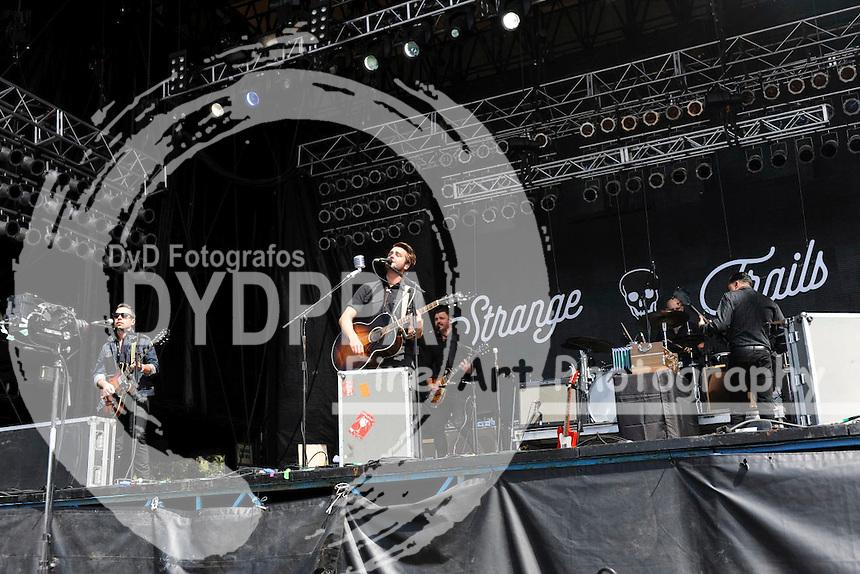Lord Huron live auf dem Austin City Limits Music Festival 2015 im Zilker Park. Austin, 04.10.2015