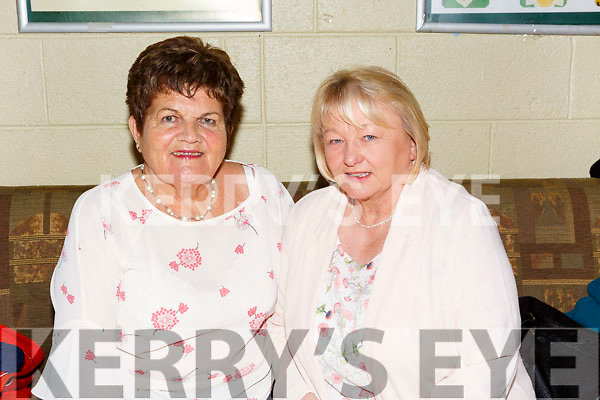 Austin Stacks Ladies celebrate the 40th anniversary of their 1st Senior County Championship win in 1977 at Austin Stacks Clubhouse on Saturday. Pictured Elinor Kelliher and Marion Reidy